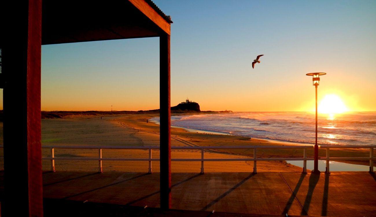 Nobbys Beach NSW