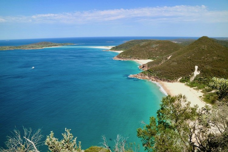 Mt Tomaree Port Stephens