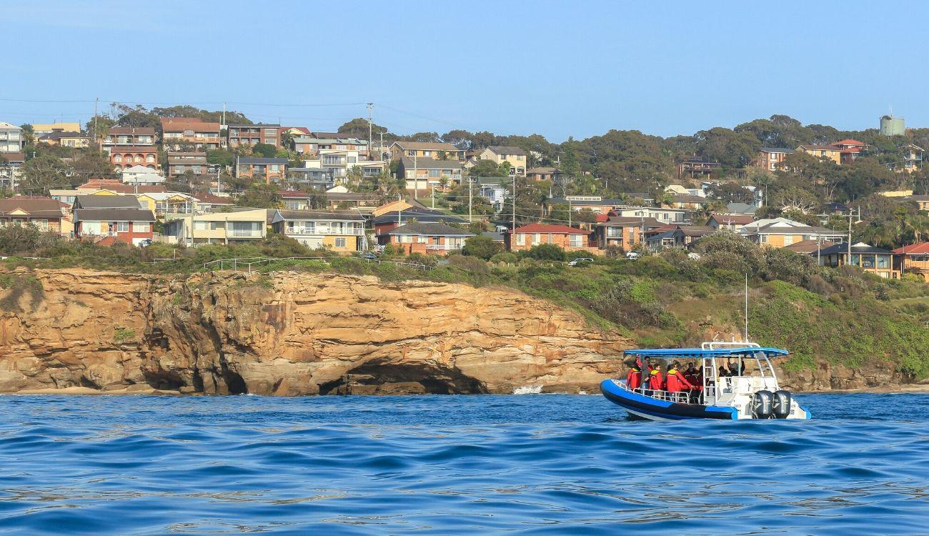 Caves Beach Boat